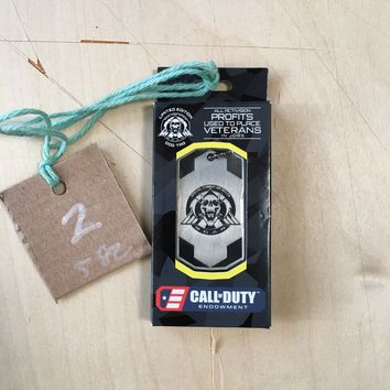 Call of Duty Infinite Warfare Dog Tag, Limited Edition S.C.A.R.