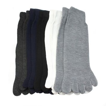 New Arrival 5 Pairs   Men Five Fingers Separate Toe Socks Comfortable Warm Hot Seeling for women#20