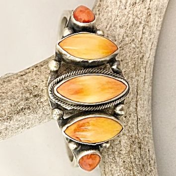 Sunwest Jewelry~ Large Spiny  Oyster Cuff