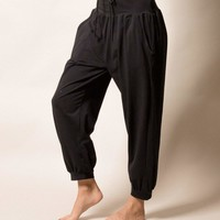 Avery Organic Cotton Pants - Black