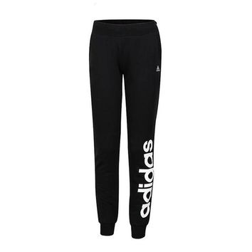 DCCK6HW Adidas' Women Clover Letter Print Casual Knit Long Pants Sweatpants
