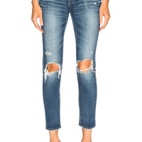 Moussy Comfort Nancy Skinny in Blue | FWRD