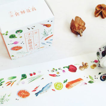 Fresh Ingredients washi masking tape mt