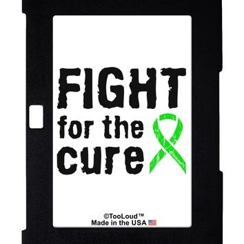 Fight for the Cure - Lime Green Ribbon Lyme Disease Galaxy Note 10.1 Case  by TooLoud