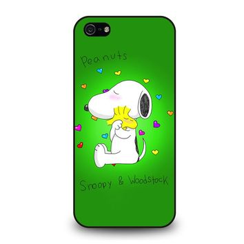 PEANUTS SNOOPY AND WOODSTOCK iPhone 5 / 5S / SE Case