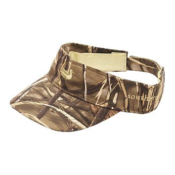 Realtree Max Camo Visor with Tan Duck by Southern Marsh