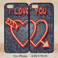 I love you,Phone Case,iPhone 5s/ 5c / 5 /4S/4 ,Samsung Galaxy S3/S4/S5/S3 mini/S4 mini/S4 active/Note 2/Note 3