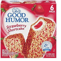 Good Humor Ice Cream Bars Strawberry Shortcake 3-oz. 6-ct.