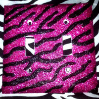 Zebra Print Double Plate Covers