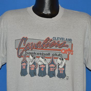 80s Cleveland Cavaliers Basketball Club t-shirt Extra Large