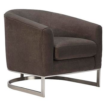 Jax Accent Chair | Luka Modern Garnet Living Room Inspiration | Living Room Inspiration | Inspiration | Z Gallerie