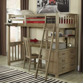 Highlands Full Loft Bed | www.hayneedle.com