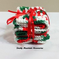 Smoky Mountain Accessories Handmade Cotton Dish Cloths