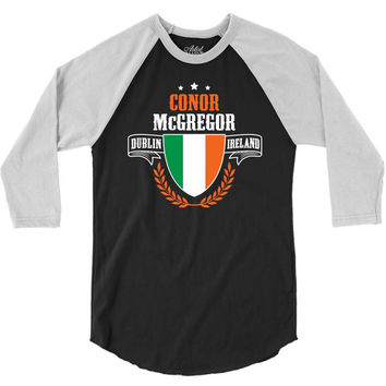 Connor McGregor 3/4 Sleeve Shirt