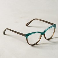 Afternoon Reading Glasses by Anthropologie in Green Size: