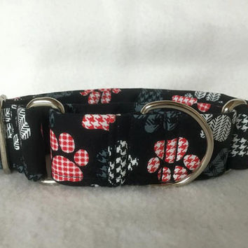 "Top Paws Black Martingale or Quick Release Collar 1"" Martingale Collar, 1.5"" Martingale Collar or 2"" Martingale Collar"
