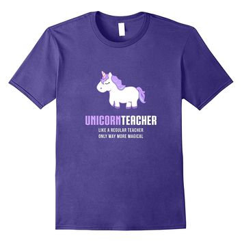 Unicorn Teacher Shirt- Funny Cute Magical Gift