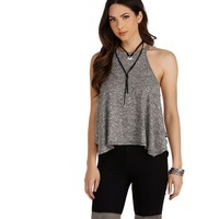 Charcoal Swing Effect Top