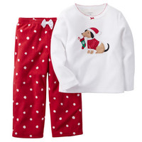 2-Piece Fleece PJs