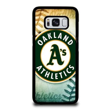 OAKLAND ATHLETICS LOGO Samsung Galaxy S8 Case Cover
