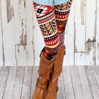 Anasazi leggings - Modern Vintage Boutique