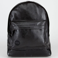 Mi-Pac Prime Backpack Black Croc One Size For Men 22170410001