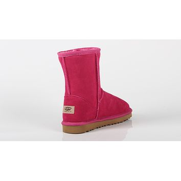 UGG 2018 new trend non-slip female models in the tube warm snow boots