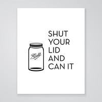 Can It - Art Print