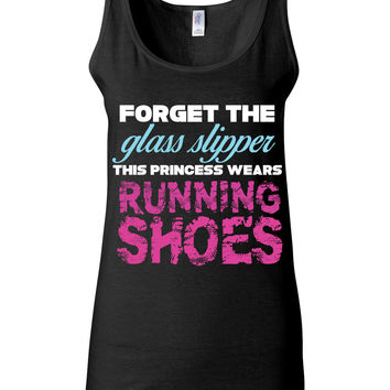 Forget The Glass Slipper Running Shoes Tank
