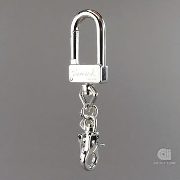 Diamond Supply Co. U-Lock Key Chain | Caliroots - The Californian Twist of Lifestyle and Culture
