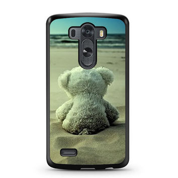 Little Teddy Bear in Beach LG G3 Case