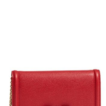 Salavatore Ferragamo Vara Leather Wallet on a Chain | Nordstrom