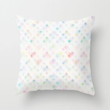 Awash Throw Pillow by MidnightCoffee