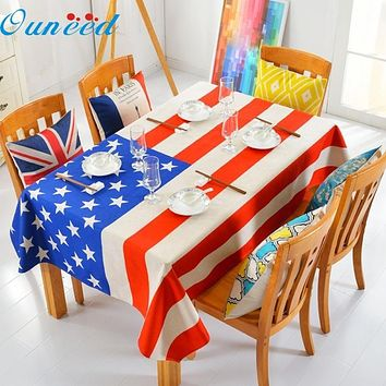 American Flag Table Cloth
