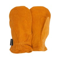 QuietWear Split Leather Mittens