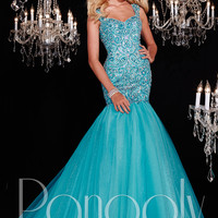 Panoply 14787 Fit & Flare Formal Prom Gown