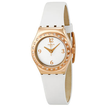 Swatch Irony La Rose Douce Ladies Quartz Watch YSG133