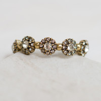 Embellished Flower Stretch Bracelet