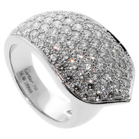 Cartier Pave Diamond White Gold Ring