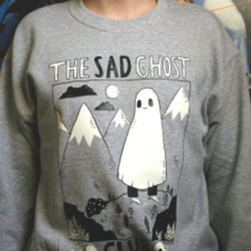 SAD GHOST CLUB — Sad Ghost Sweatshirt