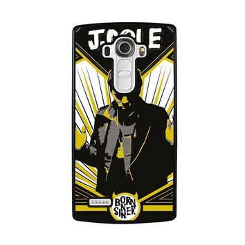 j cole born sinner lg g4 case cover  number 2
