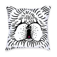So into this design on Fab! Chow Chow Throw Pillow #FabForAll