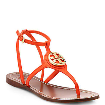 Leticia Leather Thong Sandals