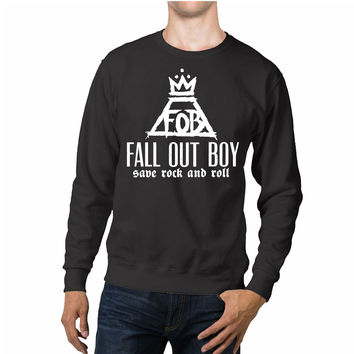 Fall Out Boy FOB Logo Unisex Sweaters - 54R Sweater