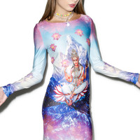 Rage On Shiva Dress Multi