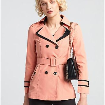 Women's Casual/Daily Casual Fall Winter Trench Coat