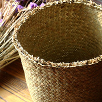 Hand-weaved  Storage  baskets/Repose Harmonized Basket(J102)