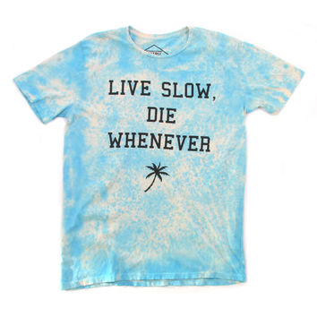 Altru Apparel Live Slow mens tee