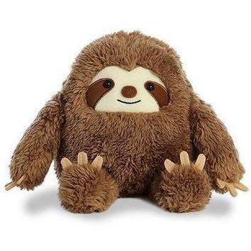 Aurora Sloth Plush