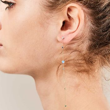 Linear Chain Earrings